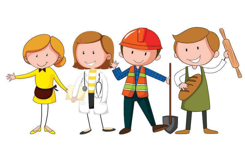 Pracownicy różnych zawodów