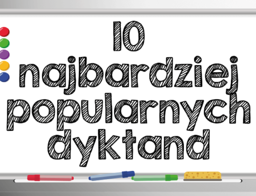 10 najbardziej popularnych dyktand